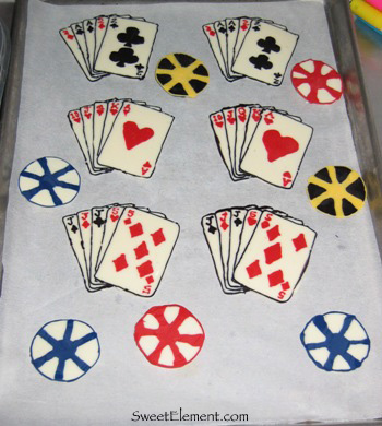Chocolate Cards & Poker Chips
