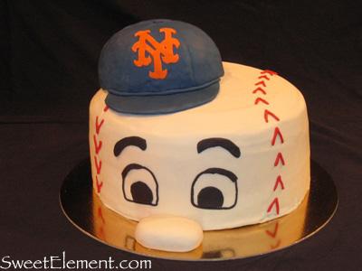Mr Met Cake