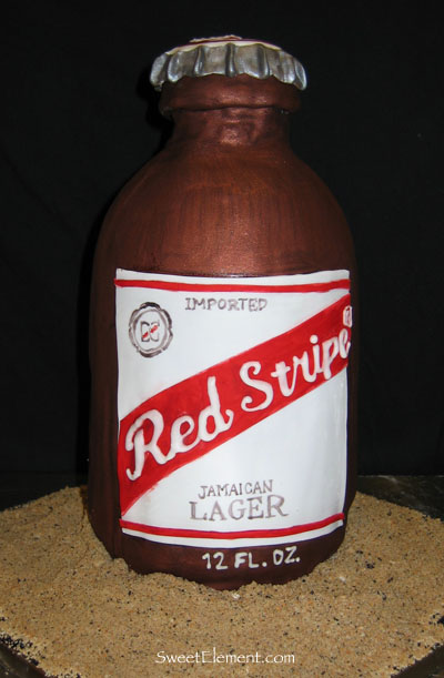 Red Stripe Beer Cake