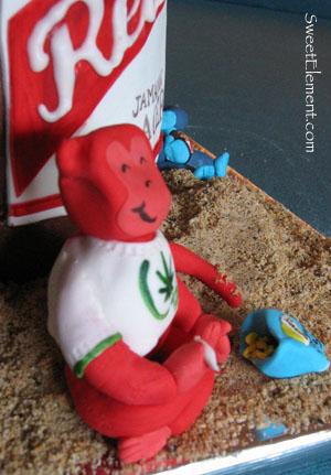 Smokin' Red Monkey
