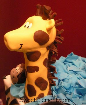 Sugar Giraffe Detail