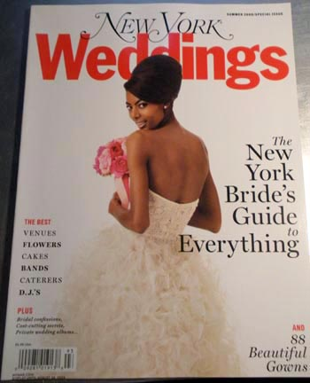 NY Magazine Weddings Summer 2009 Cover
