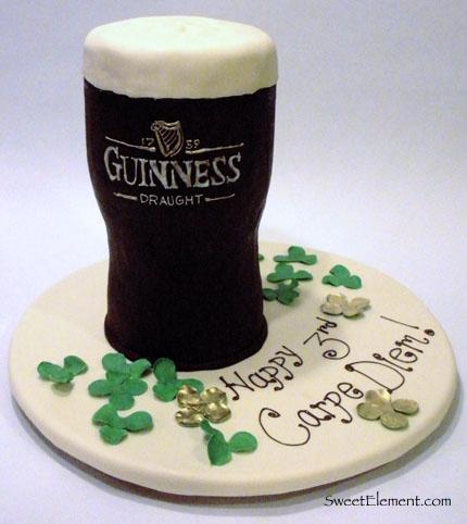 Surprising Guinness Cake Sweetelement Birthday Cards Printable Benkemecafe Filternl