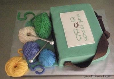 Patricia's Yarn Cake