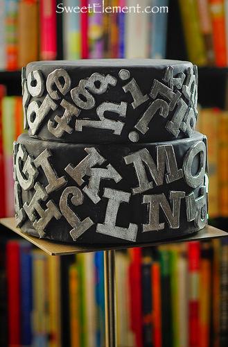 Alphabet Ring Cake