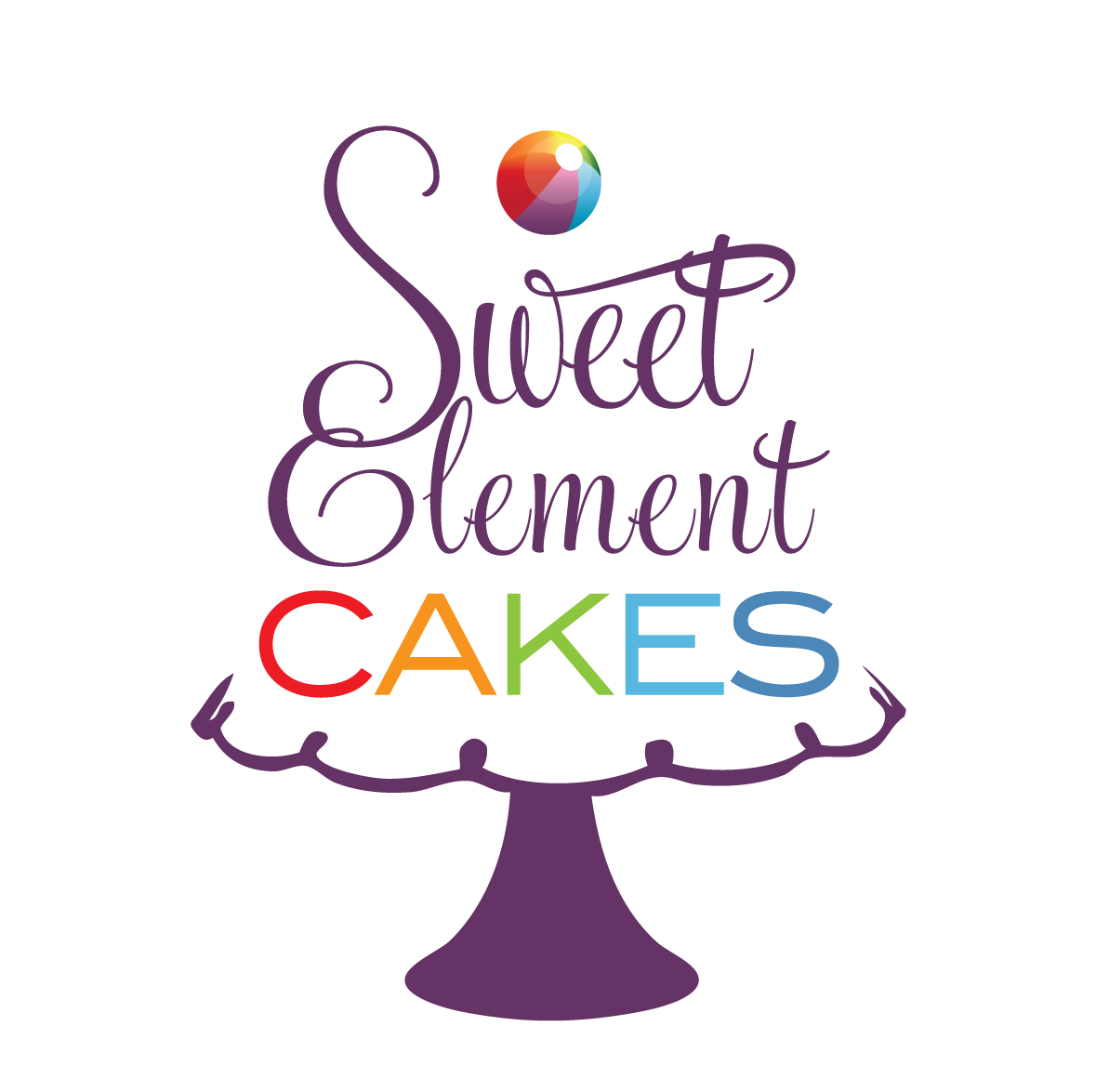 New Logo for Sweet Element Cakes! SweetElement